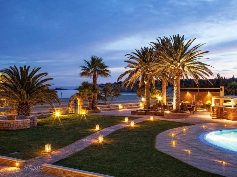 Finikas is a great option for families wanting a remote resort holiday away from the crowds.