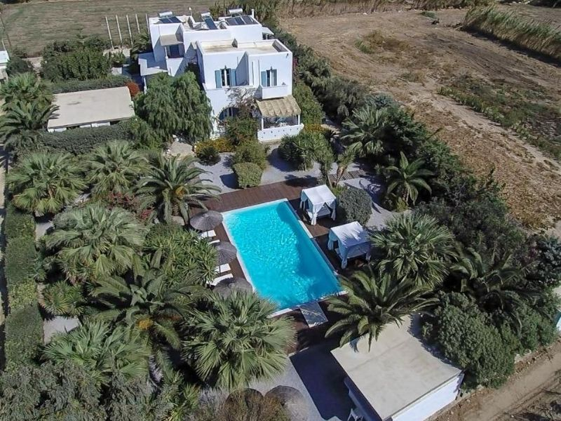 The Valena Mare Apartments are self catered for more freedom on your family holiday in Naxos.