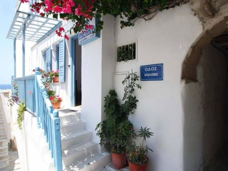 the Panorama hotel is a great family friendly budget option in Naxos.